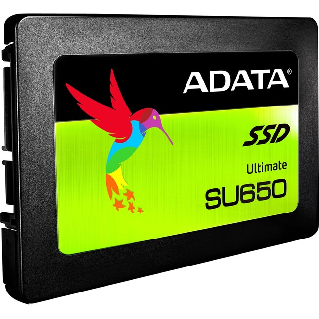 "Adata Ultimate SU650 SU650SS 240 GB Solid State Drive - SATA (SATA/600) - 2.5"" Drive - Internal"