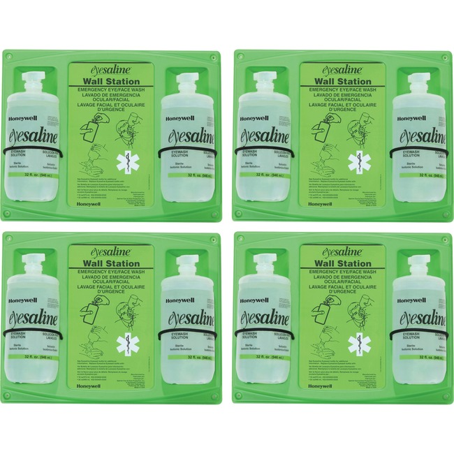 Honeywell Fendall 32 oz. Double Eyewash Wall Station