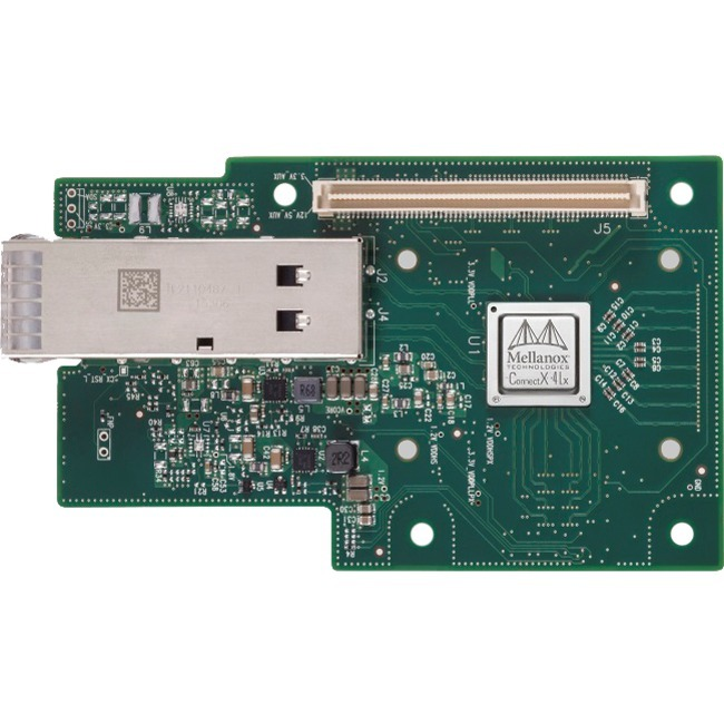 Mellanox ConnectX-4 Lx EN MCX4411A-ACAN 25Gigabit Ethernet Card for Server - PCI Express 3.0 x8 - 1 Ports - Optical Fiber
