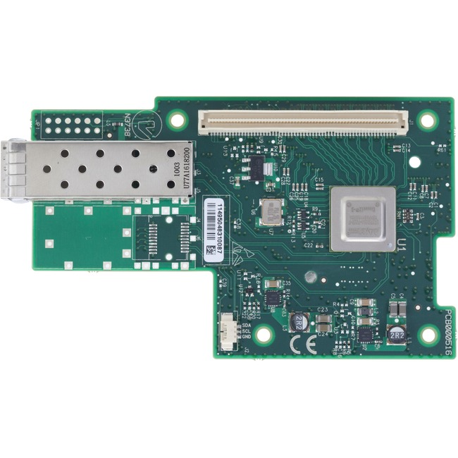 Mellanox ConnectX-3 MCX341A-XCCN 10Gigabit Ethernet Card - PCI Express x8 - 1 Ports - Optical Fiber