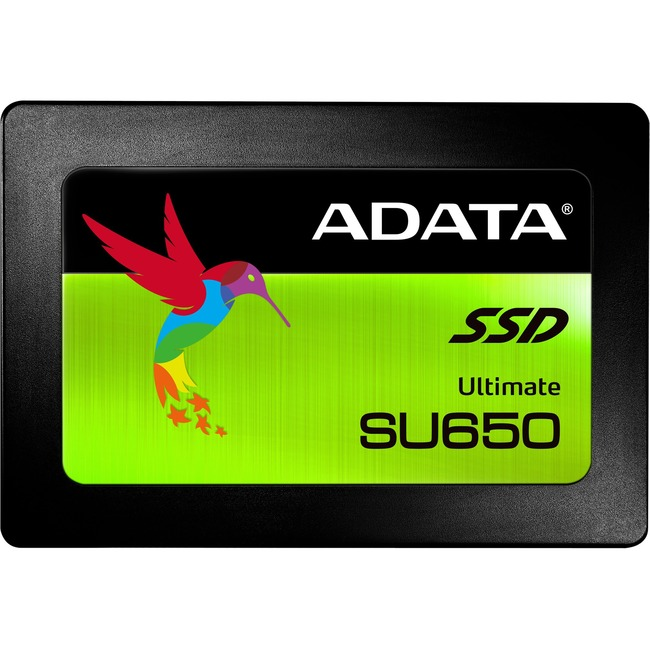 "Adata Ultimate SU650 SU650SS 480 GB Solid State Drive - SATA (SATA/600) - 2.5"" Drive - Internal"