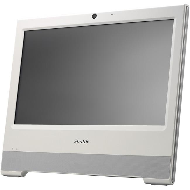 "Shuttle XPC X50V6 White All-in-One Computer - Intel Celeron 3865U 1.80 GHz DDR4 SDRAM - 15.6"" 1366 x 768 Touchscreen Dis"