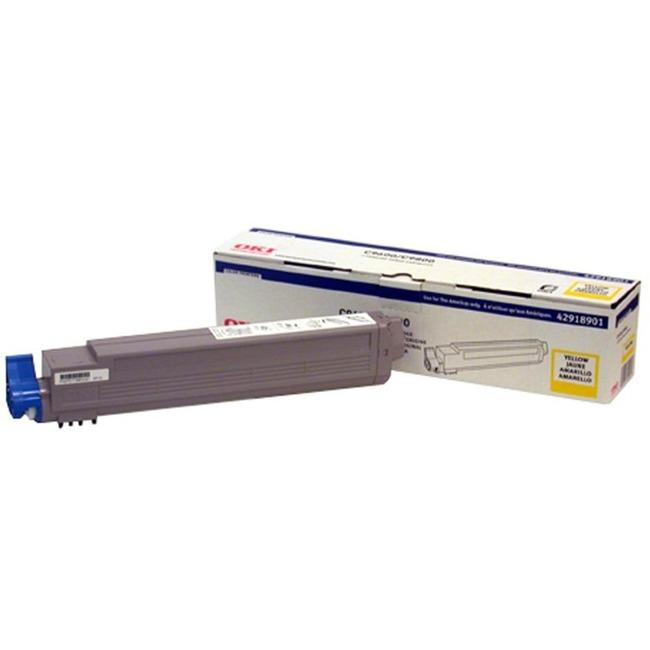 Oki Type C7 Toner Cartridge 42918901 - Large