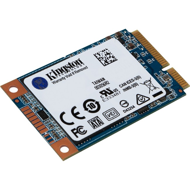 Kingston UV500 120 GB Solid State Drive - SATA (SATA/600) - Internal - mSATA