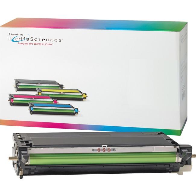 Media Sciences Toner Cartridge - Alternative for Dell (K4971) - Black