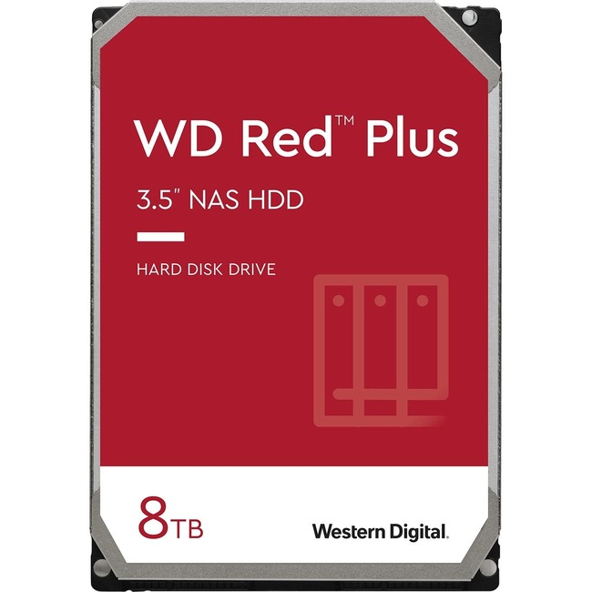 "WD Red WD80EFAX 8 TB 3.5"" Internal Hard Drive - SATA"