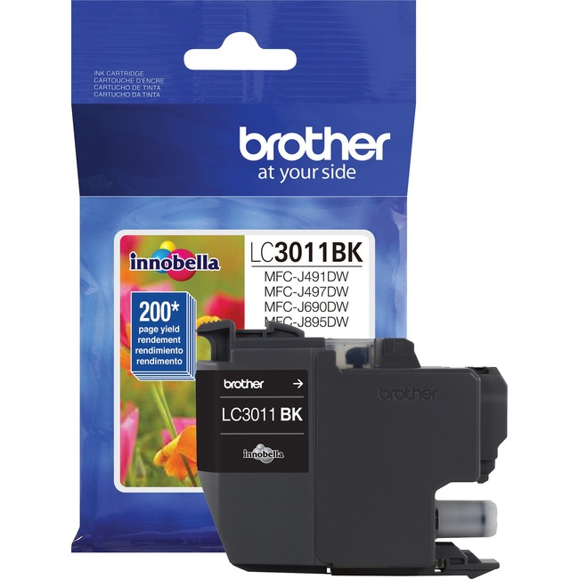 Brother LC3011BK Original Ink Cartridge Single Pack - Black