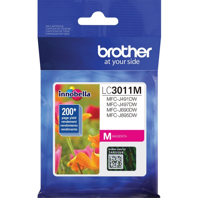 Brother LC3011M Original Ink Cartridge Single Pack - Magenta
