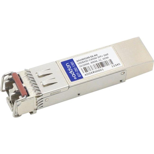ADDON AVAYA/NORTEL AA1403160-E6 COMPATIBLE TAA COMPLIANT 10GBASE-CWDM SFP TRANS