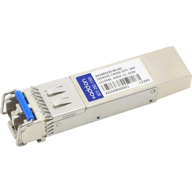 ADDON AVAYA/NORTEL AA1403155-E6 COMPATIBLE TAA COMPLIANT 10GBASE-CWDM SFP TRANS