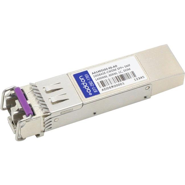 ADDON AVAYA/NORTEL AA1403162-E6 COMPATIBLE TAA COMPLIANT 10GBASE-CWDM SFP TRANS