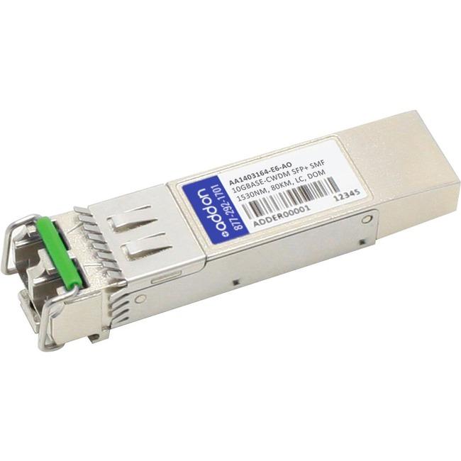 ADDON AVAYA/NORTEL AA1403164-E6 COMPATIBLE TAA COMPLIANT 10GBASE-CWDM SFP TRANS