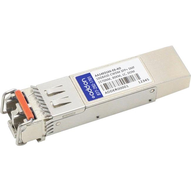 ADDON AVAYA/NORTEL AA1403166-E6 COMPATIBLE TAA COMPLIANT 10GBASE-CWDM SFP TRANS