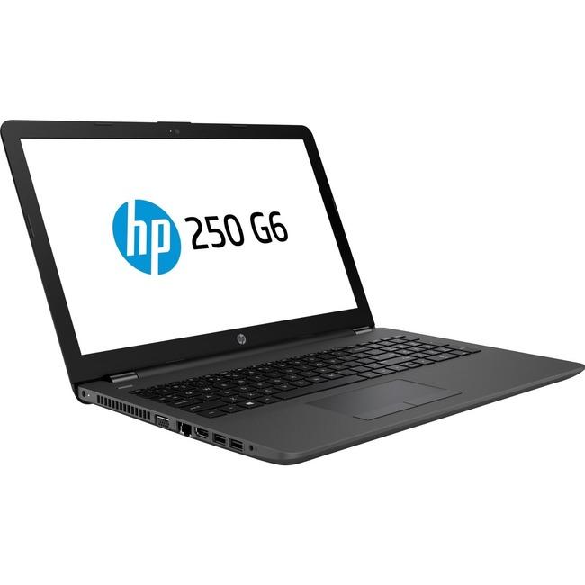 "HP 250 G6 15.6"" LCD Notebook - Intel Core i3 (7th Gen) i3-7020U Dual-core (2 Core) 2.30 GHz - 4 GB - 500 GB HDD - Window"