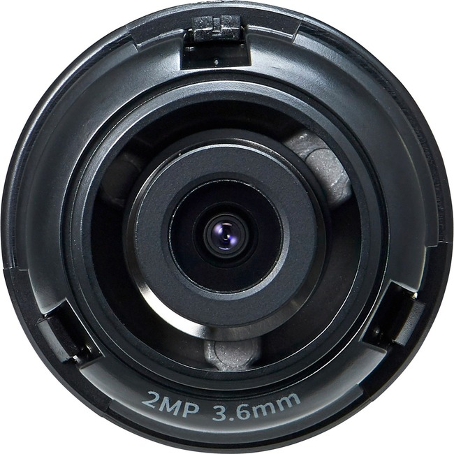 Hanwha SLA-2M3600D - 3.60 mm - f/2 - Fixed Lens