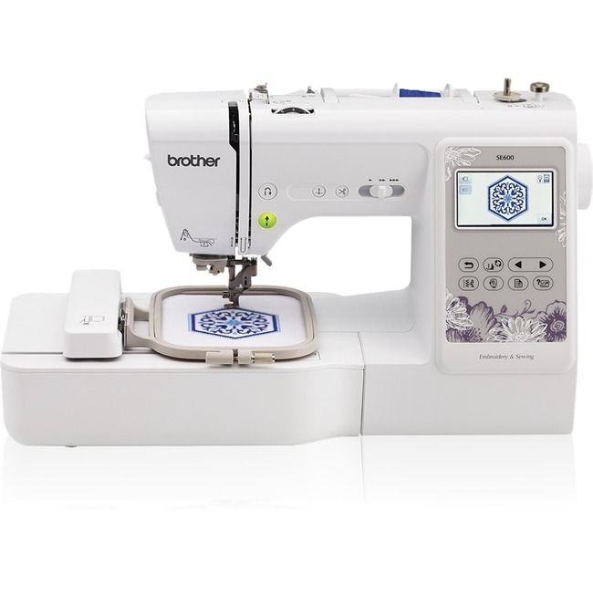 New Brother Sewing Se600 Computerized And Embroidery Machine With