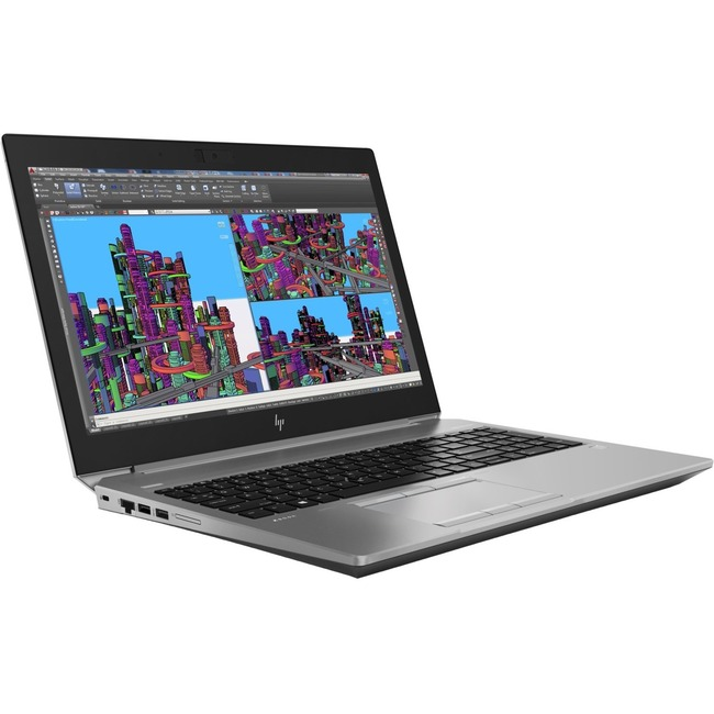 "HP ZBook 15 G5 15.6"" LCD Mobile Workstation - Intel Xeon E-2176M Hexa-core (6 Core) 2.70 GHz - 16 GB DDR4 SDRAM - 512 GB"