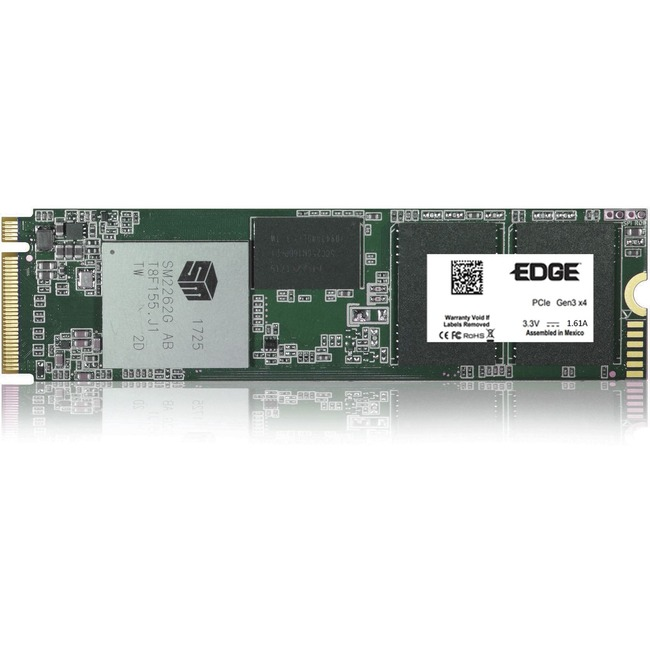 EDGE NextGen 500 GB Solid State Drive - PCI Express (PCI Express 3.0 x4) - Internal - M.2 2280 - TAA Compliant