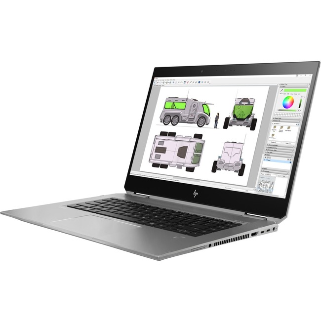 "HP ZBook Studio x360 G5 15.6"" Touchscreen LCD 2 in 1 Mobile Workstation - Intel Xeon E-2176M Hexa-core (6 Core) 2.70 GHz"