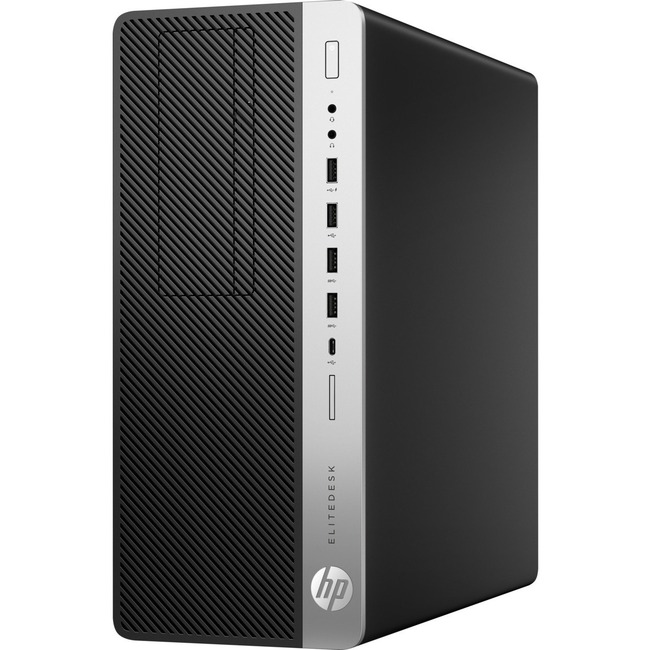 HP EliteDesk 800 G4 Desktop Computer - Intel Core i7 (8th Gen) i7-8700 3.20 GHz - 8 GB DDR4 SDRAM - 256 GB SSD - Windows