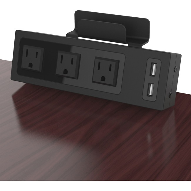 ChargeTech Desktop Outlets Power Strip