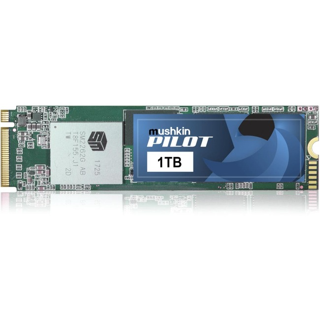 Mushkin Pilot 1 TB Solid State Drive - PCI Express (PCI Express 3.0 x4) - Internal - M.2 2280