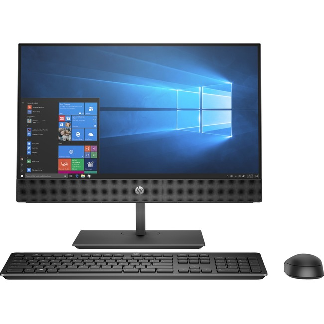 HP Business Desktop ProOne 600 G4 All-in-One Computer - Intel Core i3 (8th Gen) i3-8100 3.60 GHz - 4 GB DDR4 SDRAM - 500