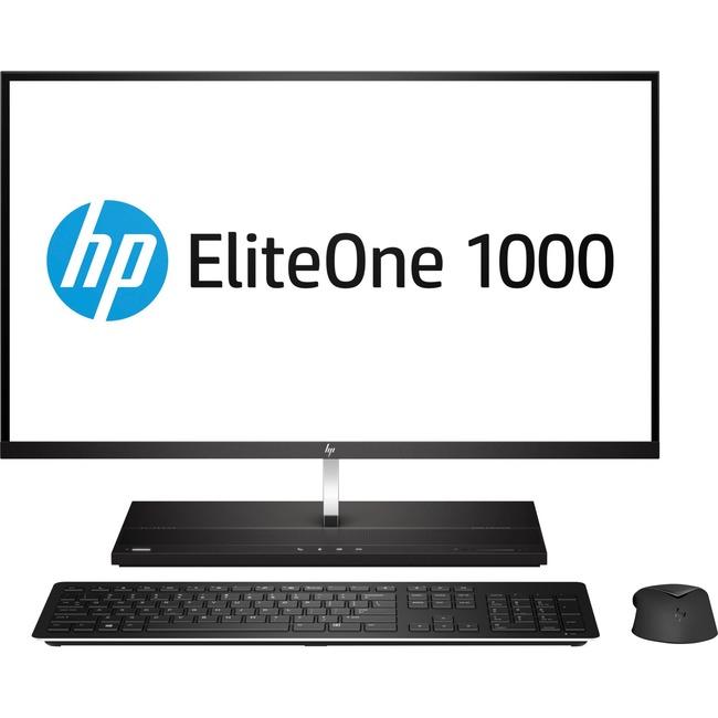 "HP EliteOne 1000 G2 All-in-One Computer - Intel Core i5 (8th Gen) i5-8500 3 GHz - 8 GB DDR4 SDRAM - 256 GB SSD - 27"" 384"