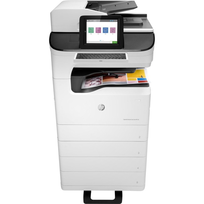 HP PageWide Enterprise 785z+ Page Wide Array Multifunction Printer - Color - Plain Paper Print - Floor Standing