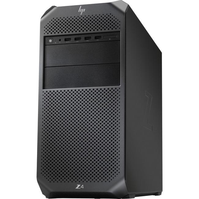 HP Z4 G4 Workstation - 1 x Intel Core X-Series I9-7980X - 64 GB DDR4 SDRAM - 500 GB HDD - Linux - Mini-tower - Black
