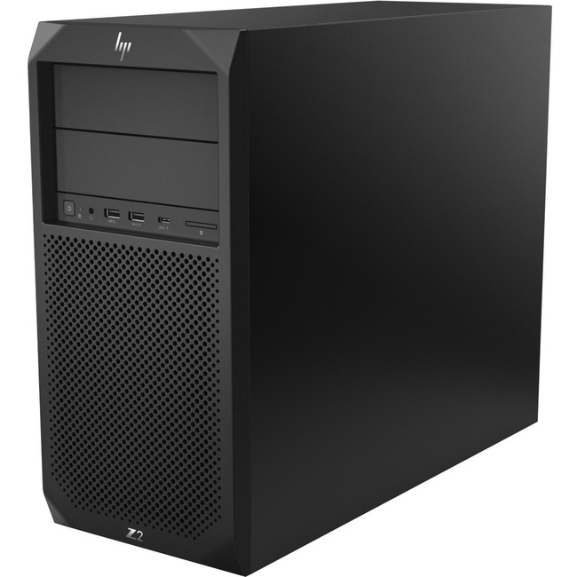 HP Z2 G4 Workstation - 1 x Intel Core i7 (8th Gen) i7-8700 Hexa-core (6 Core) 3.20 GHz - 16 GB DDR4 SDRAM - 256 GB SSD -