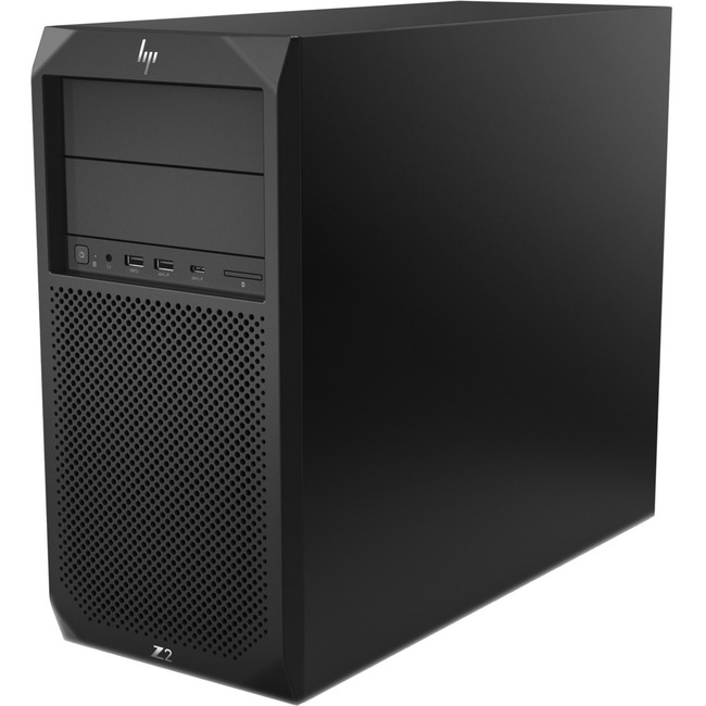 HP Z2 G4 Workstation - 1 x Intel Xeon E-2144G Quad-core (4 Core) 3.60 GHz - 16 GB DDR4 SDRAM - 512 GB SSD - Intel UHD gr