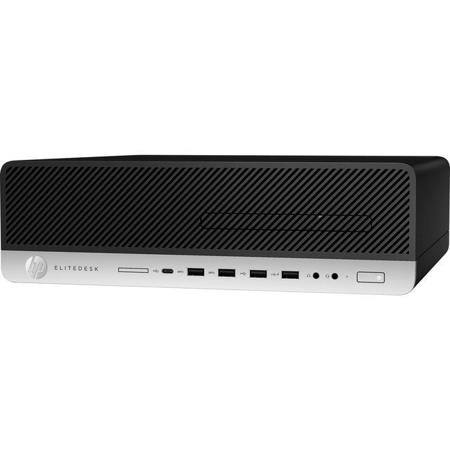 HP EliteDesk 800 G4 Desktop Computer - Core i7 i7-8700 - 8 GB RAM - Small Form Factor