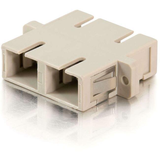SC Female to SC Female Duplex Fiber Adapter