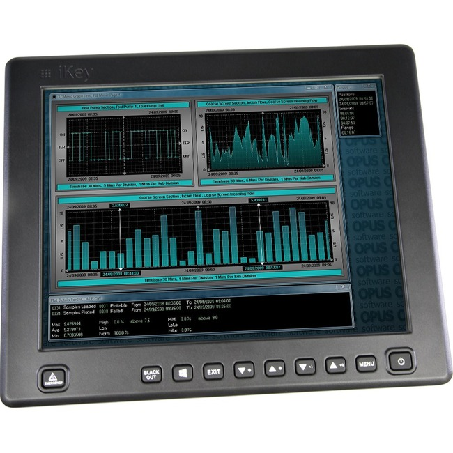 "iKey iKeyVision IK-KV-13.3W 13.3"" LCD Touchscreen Monitor - 16:9"
