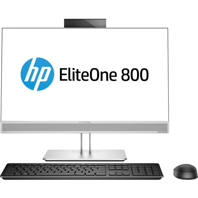 "HP EliteOne 800 G4 All-in-One Computer - Intel Core i5 (8th Gen) i5-8500 3 GHz - 16 GB DDR4 SDRAM - 256 GB SSD - 23.8"" 1"