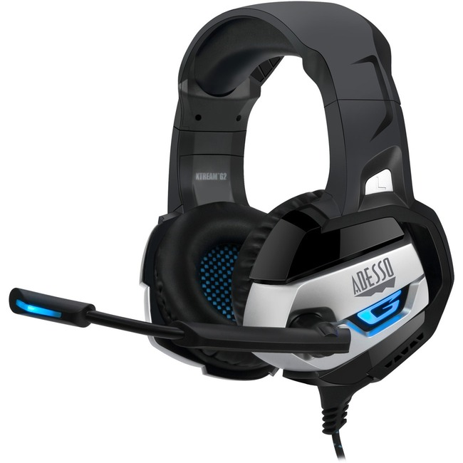 Adesso Xtream G2 Stereo USB Gaming Headphone/Headset with Microphone