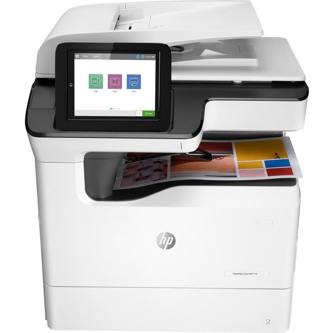 HP 779 779dn Page Wide Array Multifunction Printer - Color - Plain Paper Print - Desktop