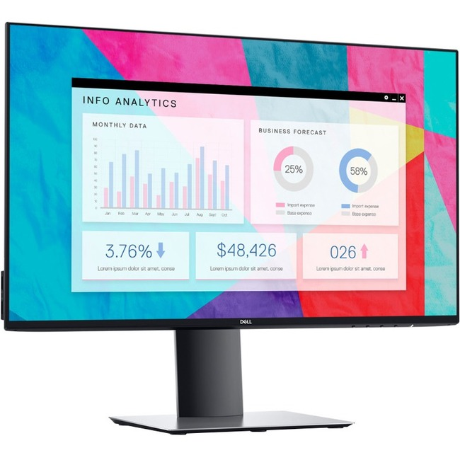 Dell UltraSharp 24 InfinityEdge Monitor U2419H 60.4cm 23.8And#34;And#34; Black