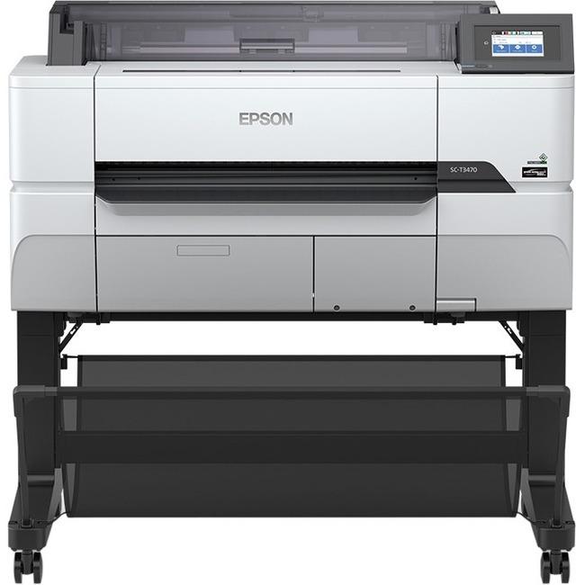 """Epson SureColor T3470 Inkjet Large Format Printer - 24"""" Print Width - Color"""
