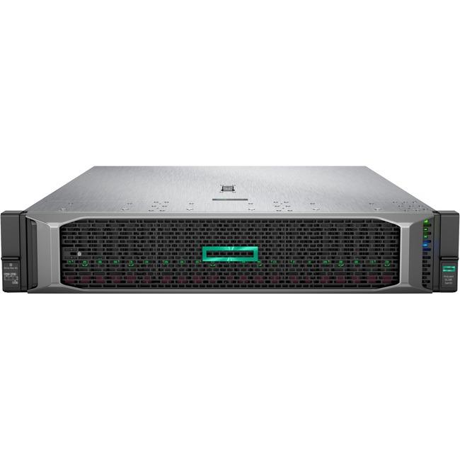 HPE ProLiant DL385 G10 2U Rack Server - 1 x AMD EPYC 7351 2.40 GHz - 32 GB RAM HDD SSD - 1