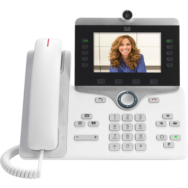 Cisco 8865 IP Phone - Wi-Fi, Bluetooth - Wall Mountable, Desktop