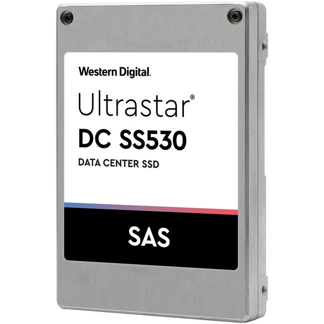 """HGST Ultrastar DC SS530 WUSTR6440ASS200 400 GB Solid State Drive - SAS (12Gb/s SAS) - 2.5"""" Drive - 3 DWPD - Internal"""