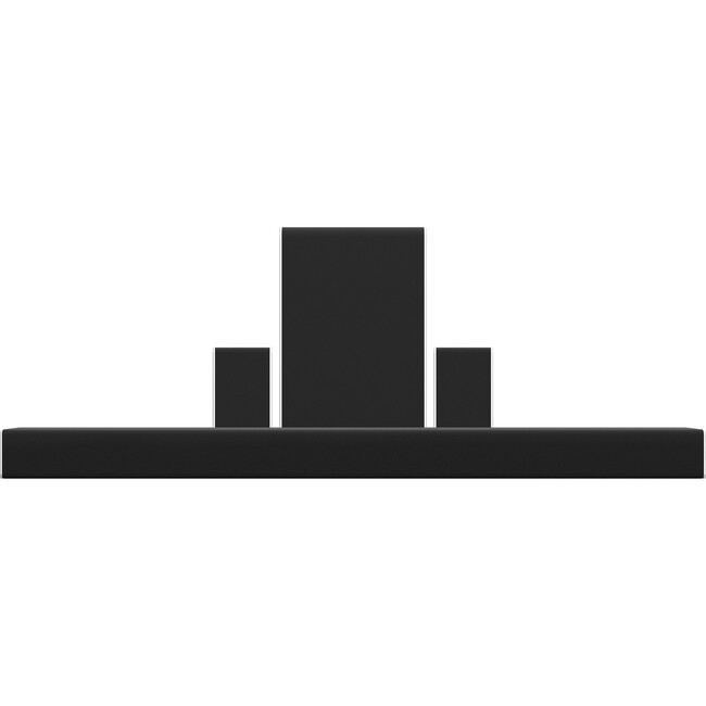 VIZIO SB36512-F6 5.1.2 Speaker System - Wireless Speaker(s) - Wall Mountable - Black