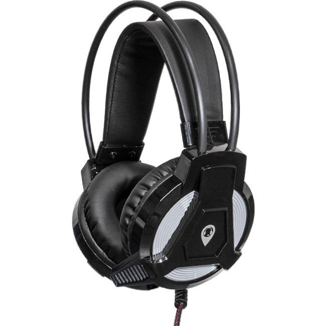 Anywhere Cart AC-HPM-USB-BLK Headset - Stereo - USB - Wired - 32 Ohm - 20 Hz - 20 kHz - Ov