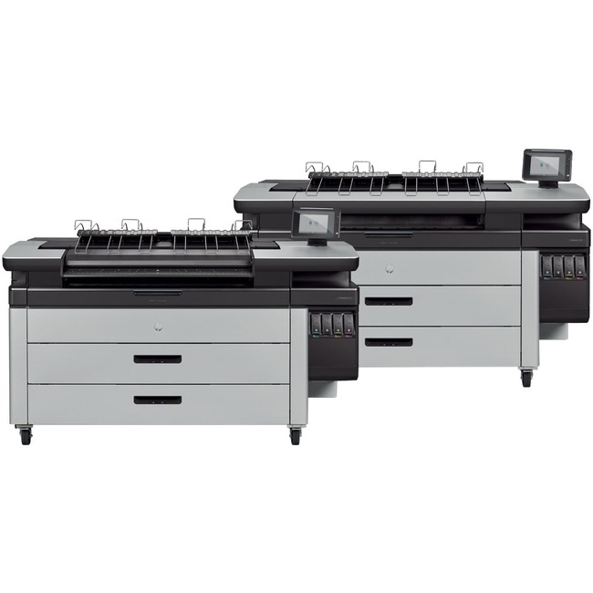 "HP PageWide XL 4100 PostScript Page Wide Array Large Format Printer - 40"" Print Width - Color"