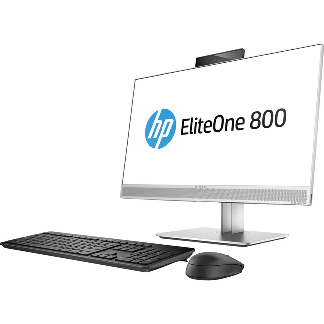 "HP EliteOne 800 G4 All-in-One Computer - Intel Core i5 (8th Gen) i5-8600 3.10 GHz - 8 GB DDR4 SDRAM - 23.8"" 1920 x 1080"