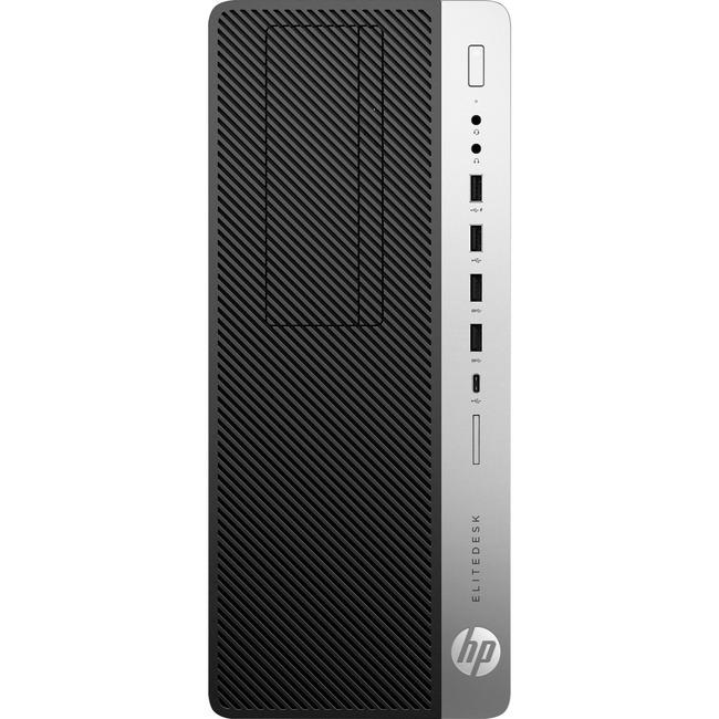HP EliteDesk 800 G4 Desktop Computer - Core i7 i7-8700 - 16 GB RAM - Tower