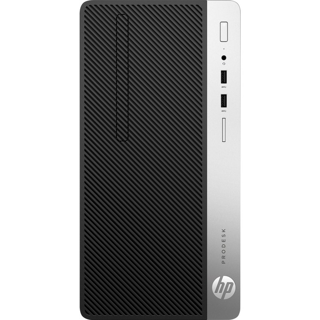 HP Business Desktop ProDesk 400 G5 Desktop Computer - Intel Core i7 (8th Gen) i7-8700 3.20 GHz - 16 GB DDR4 SDRAM - Micr