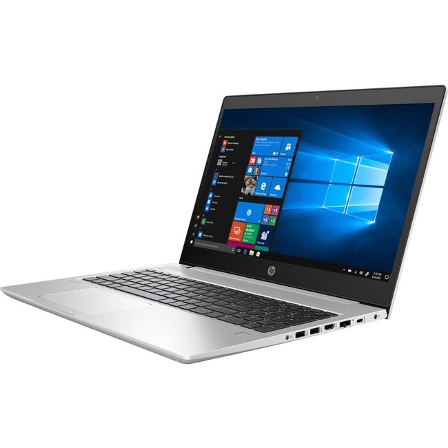 "HP ProBook 455 G6 15.6"" LCD Notebook - AMD Ryzen 3 2200U Quad-core (4 Core) 2.50 GHz - 4 GB DDR4 SDRAM - 128 GB SSD - Wi"